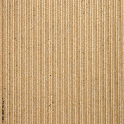 Fotografía  Corrugated cardboard package background texture
