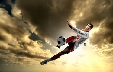 Fototapetasoccer player 25