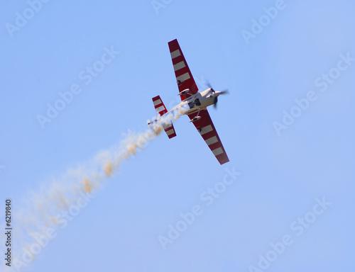 a jet plane at an air show.... Canvas Print