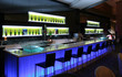 canvas print picture - Trendy bar