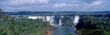 Panoramic view on Iguasu falls