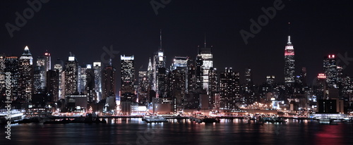 Foto op Canvas New York Lights of NY CIty