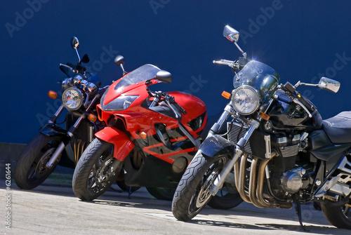 Motocycle Canvas Print