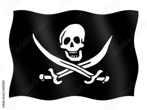 Fotografering  bandiera pirata