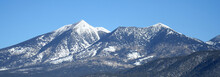 Arizona's San Francisco Peaks ...