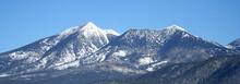 Arizona's San Francisco Peaks In Winter