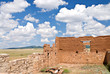 Crumbling stone walls of Fort Union, New Mexico