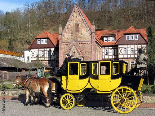Valokuva  Postkutsche in Stolberg