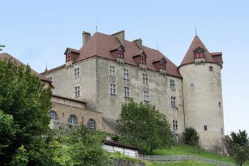 Fototapeta na wymiar Château de Gruyères