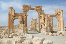 City Of Palmyra -  Ruins Of Th...