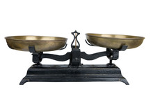 Ancient Two Pan Balance