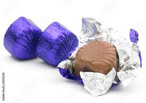 Fotografie, Tablou heart shape chocolates