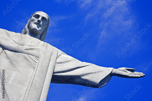 Christ the Redeemer on Corcovado Mountain, Rio de Janeiro Poster