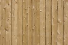 New Cedar Wood Fence Backgroun...