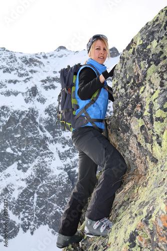 Foto op Plexiglas Alpinisme Skitour3