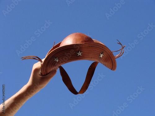 La pose en embrasure Vache Chapéu de couro