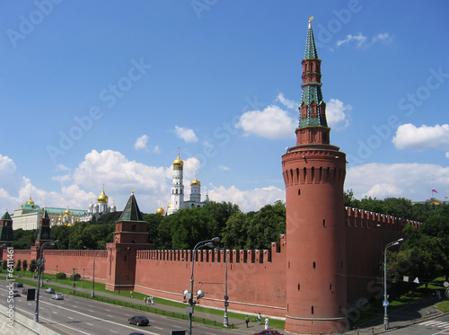 The Kremlin Canvas Print