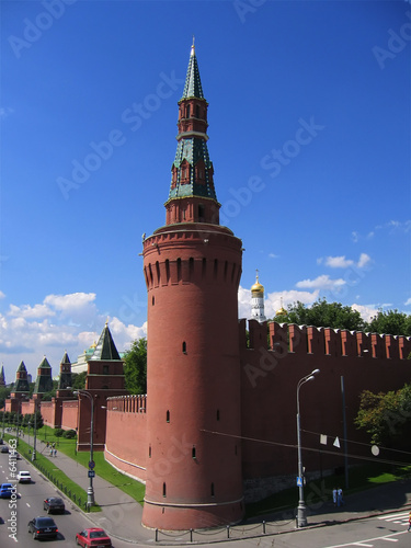 Photo  Towers of the Kremlin