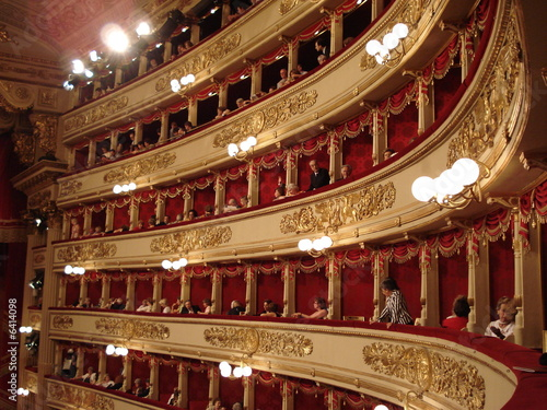 Fotografie, Obraz  Scala Milano