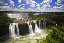 Iguassu Falls Is The Largest S...