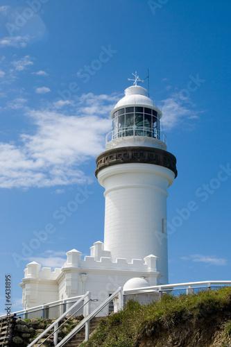 Foto-Flächenvorhang - Lighthouse at Byron Bay, Australia (von Sunnydays)