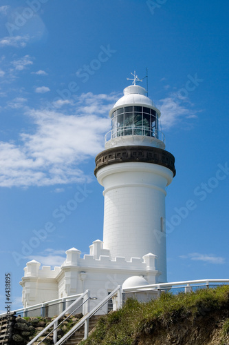 Foto-Kassettenrollo premium - Lighthouse at Byron Bay, Australia