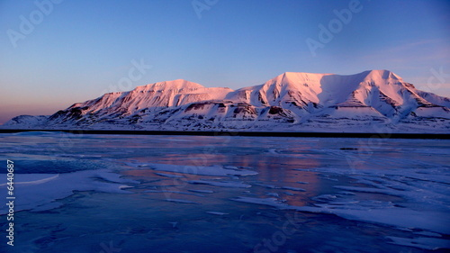 Canvas Prints Arctic Longyearbyen 78°