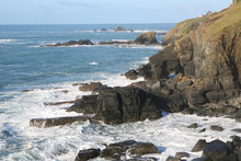 Cornish Coast At Lizard Point