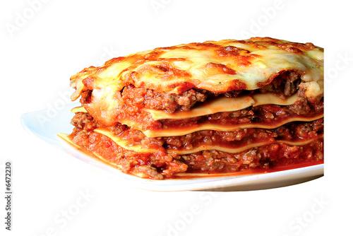 Foto op Plexiglas Pizzeria Lasagne
