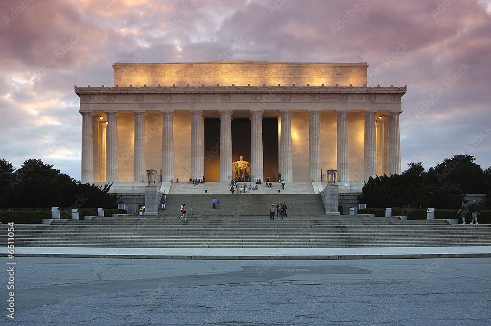 Fototapeta Lincoln Memorial Night