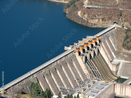 Cadres-photo bureau Barrage dam