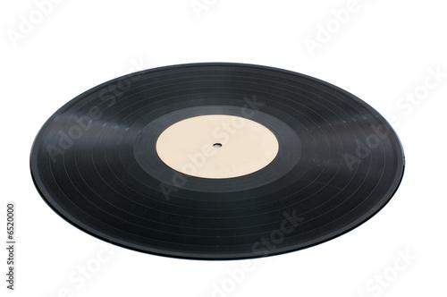 vinyl disk Canvas Print