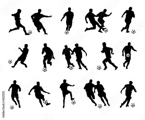 Fussballspieler Schwarz Buy This Stock Illustration And