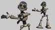 robot presents
