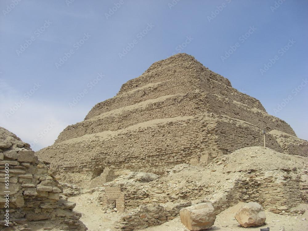 Egypte pyramide de Sakkarah