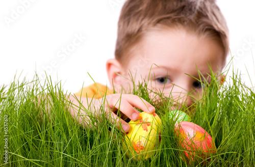 Plakat  Easter egg hunt