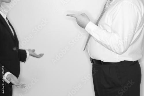 Valokuva  businessman blaming
