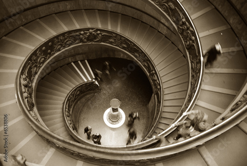 Wall Murals Vatican staircase