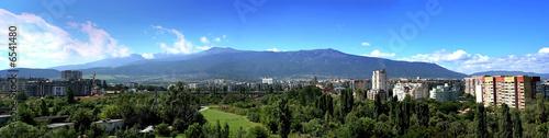 Panorama of Vitosha mountain, Sofia, Bulgaria
