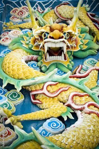 Fotografía  chinese feng shui jade dragon
