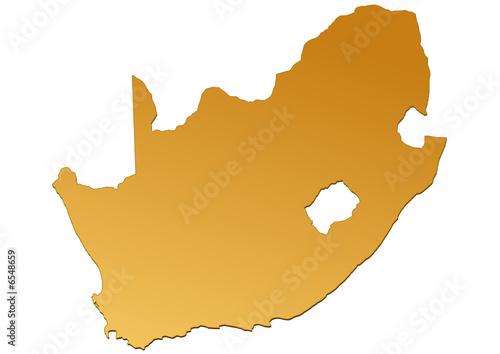Carte Dafrique Du Sud.Carte D Afrique Du Sud Marron Buy This Stock Vector And