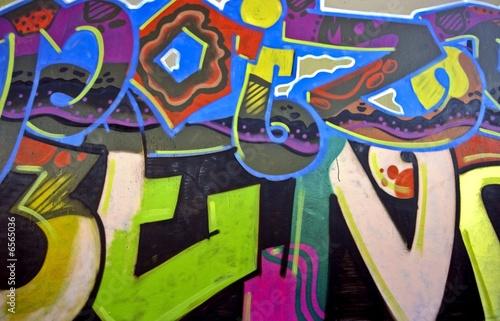 Graffiti in Amsterdam the Netherlands Poster