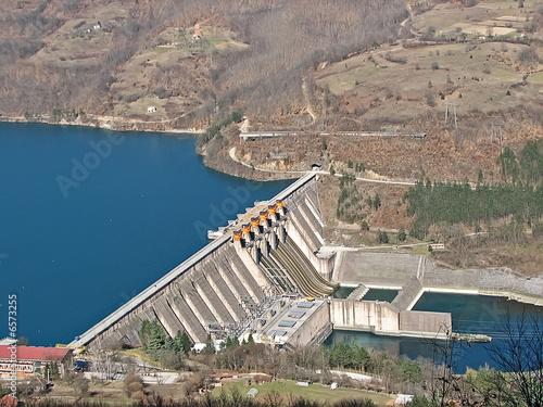 Photo sur Toile Barrage dam