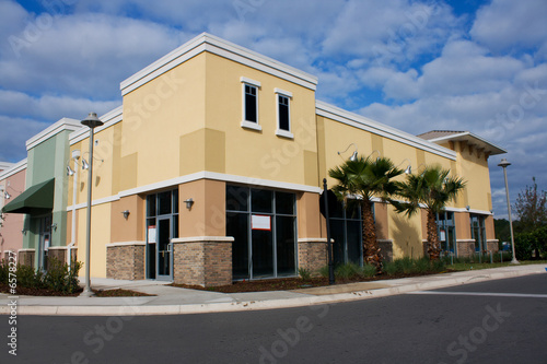 Fotografie, Obraz  pastel commercial mall 6