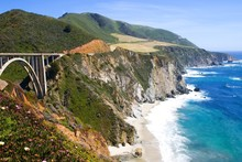 Bridge In Big Sur, California