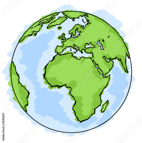 Planete Terre Dessin Buy This Stock Vector And Explore Similar