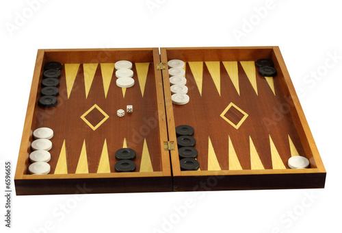 Backgammon Fototapeta