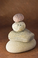Fototapeta na wymiar balancing stones