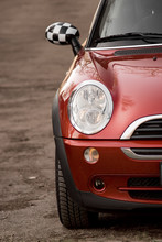 Photo Of Red Mini, In The Nature