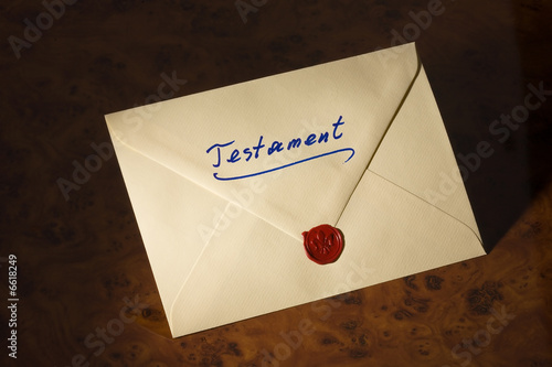 Fotografía  Last Will - Testament